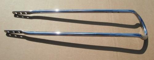 Sissybar 59 cm lang verchromt