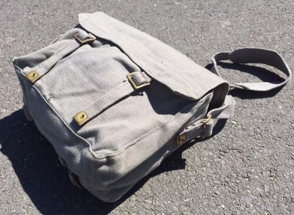 Original Englische Armeetasche feldgrau