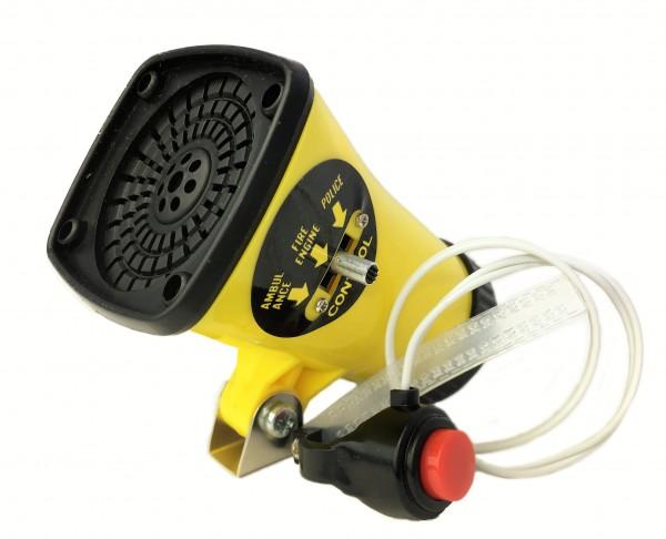 Kojak Batterie-Sirene, drei verschiedene Sirenen