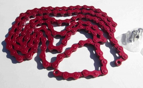 Kette 1/2 x 1/8 rot