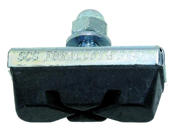 Bremsschuh - Bremsbelag für Alu- und Stahlfelgen 1 Paar 2 Stück