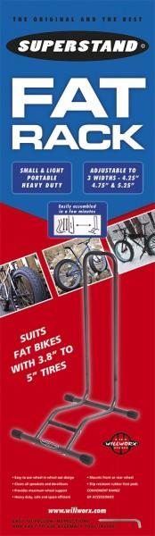Ausstellungsständer SuperStand für Fat Bikes