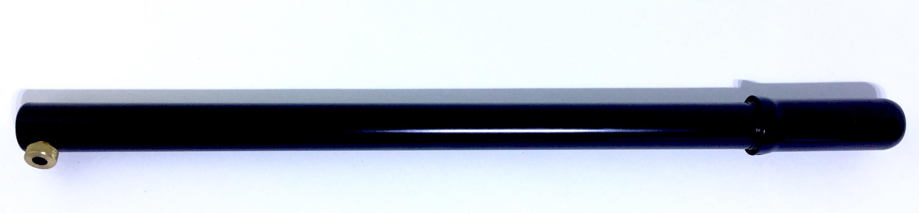 Schrägventil 40 cm Metall schwarz Luftpumpe