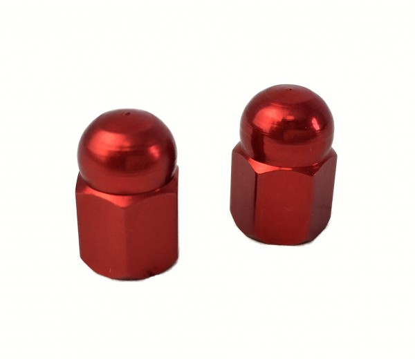Ventilkappen Hutmutter rot