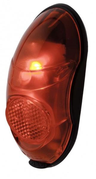 Rückleuchte Retro LED rot Batterie