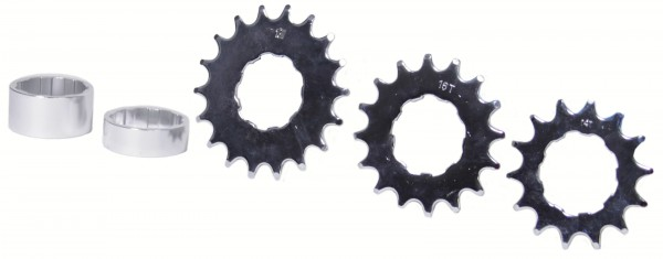 Single-Speed-Umrüstkit 18-16-14 Zähne