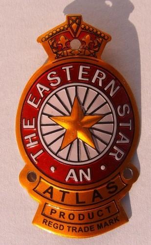 Steuerkopfschild Eastern Star