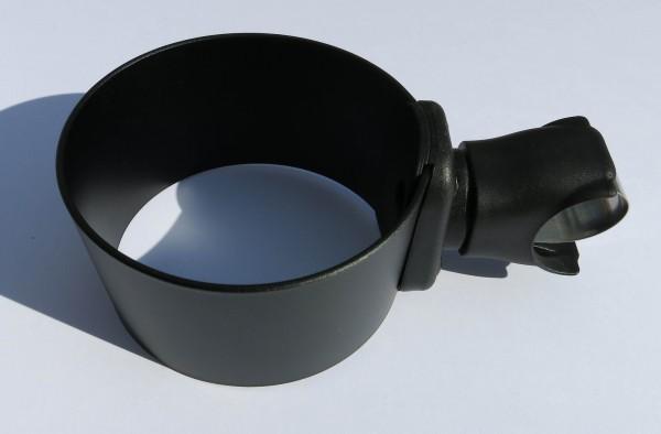ALU CUP HOLDER Getränkehalter schwarz