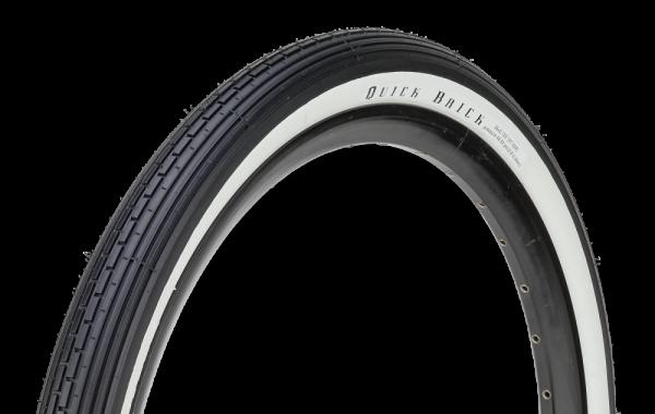 26 x 2.125 Reifen Quick Brick schwarz + Weiße Seitenwand