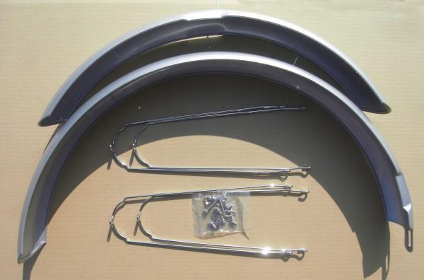 ALU Cruiser Schutzbleche 26 Zoll 80 mm