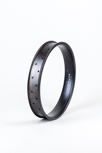 Alufelge 20 Zoll 67 mm schwarz, doppelwandig