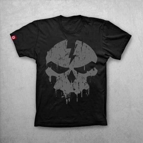Ruff Cycles Shirt schwarz Skully Gr. S