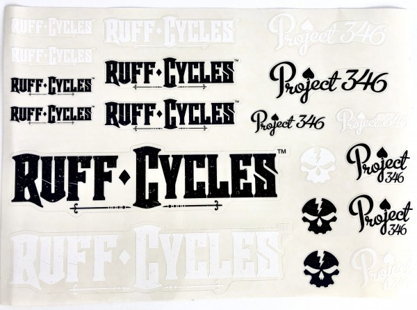 Aufklebersatz Ruff Cycles Project 346 Sticker Set
