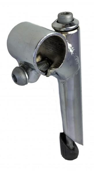 Vorbau, 40mm, Stahl-Schaft 1-Fach Schraubenlenkerklemmung verchromt Humpert Ergotec