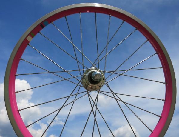 20 Zoll Hinterrad Electra Townie 7 D 20 Zoll pink Kassette