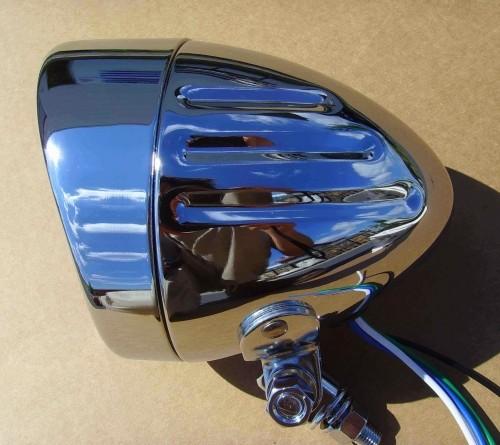 Frontscheinwerfer Motobike 10,7 cm Durchmesser