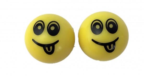 Ventilkappen smile gelb