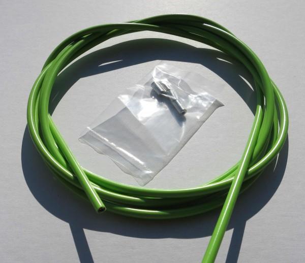 Außenzug Bowdenzug hellgrün 2,50 m 5 mm