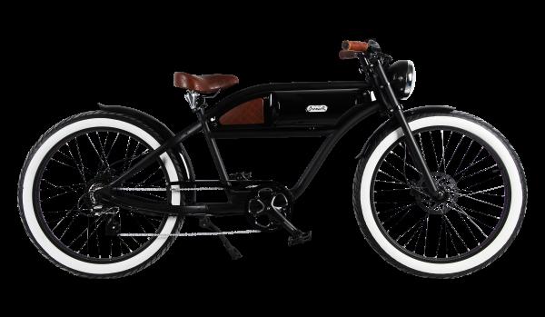 """""""GREASER"""" Das Vintage E-Bike in mattschwarz"""