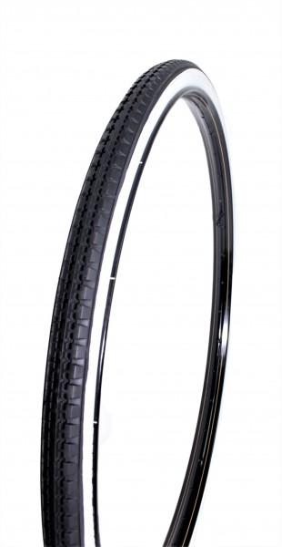 Reifen schwarz mit Weißwand 28 x 1 1/2 40-635