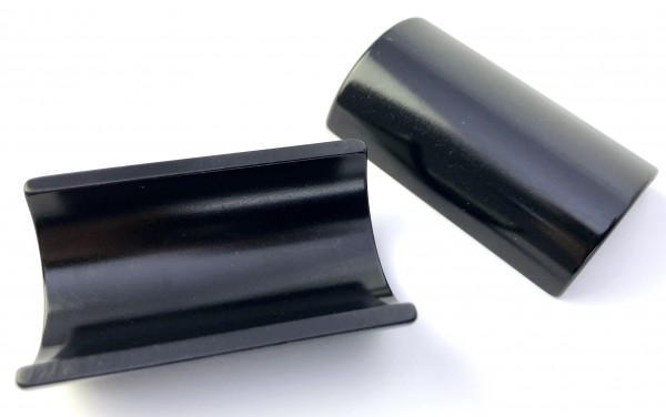 Lenker Distanzschalen 25,4 - 31,8 mm schwarz