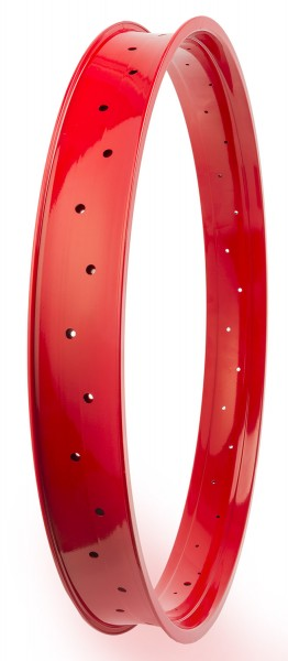 Alufelge 80 28 Zoll 80 mm breit Rot