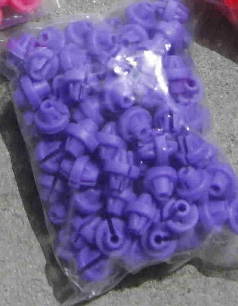 100 Speichenklacker in violett