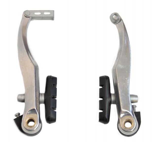 V-Brake Bremse für 1 Rad bis zu 80 mm breite Schutzbleche