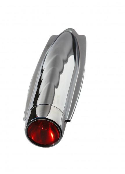 Torpedo 40er Jahre Schutzblechlampe rot hinten