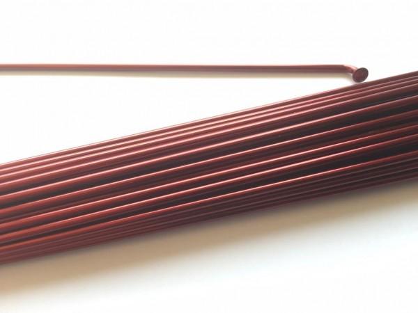 Speiche 2.0 x 222 burgunder rot metallic