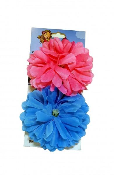 Lenkerblume Dahlia rosa und blau