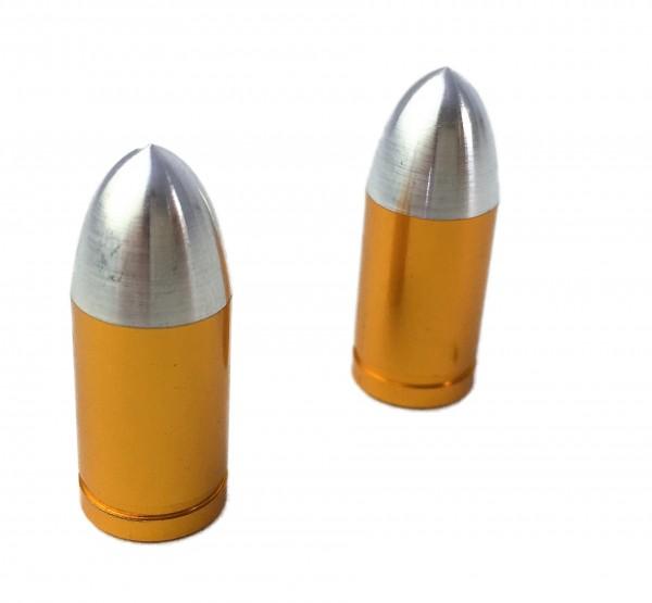 Ventilkappen Bullet Messing