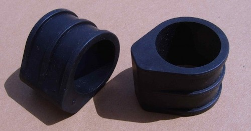 Rahmenschutz für Doppelbrückengabel 3cm, Paar