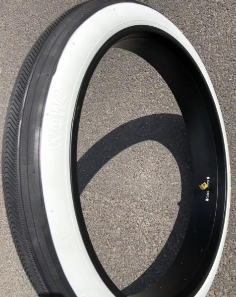 Reifen WOW 26 x 3.45 schwarz weißwand