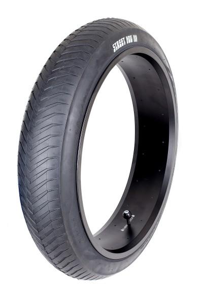 Monster Reifen 24 x 4 1/4 Zoll Street Hog III reinschwarz