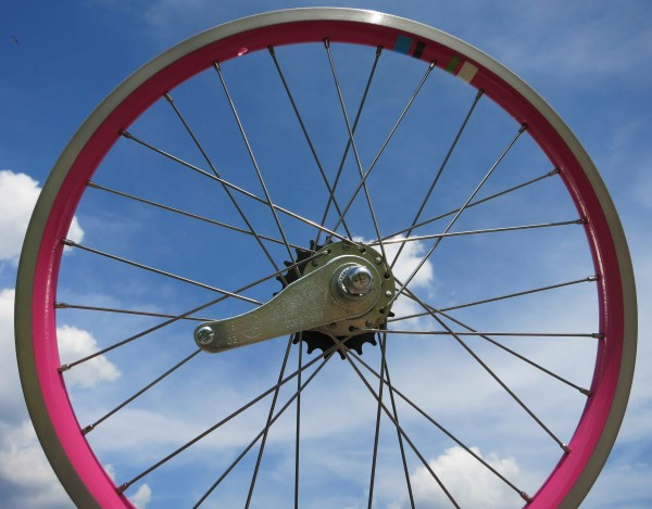 20 Zoll Hinterrad Electra Townie 1 20 Zoll pink RBN
