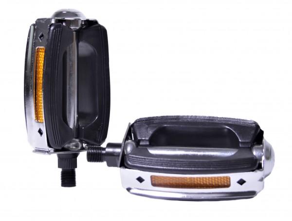 Wie Union - Pedale mit Reflektor für one piece crank für Fahrrad