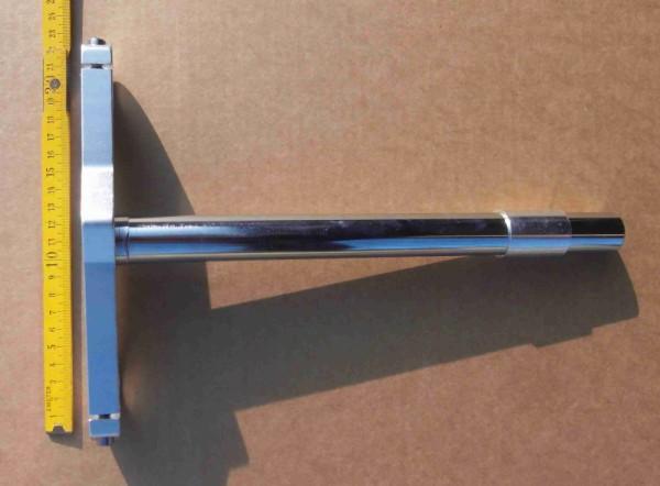 Extra breite, untere Gabelbrücke mit langem 1 Zoll Schaft