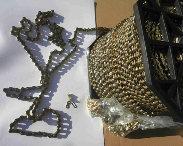 Kette Gold 1/2 x 1/8 Meterware 10 cm