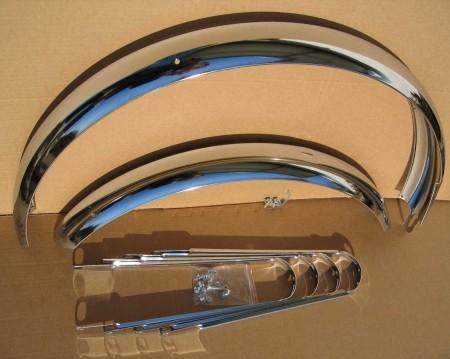 Schutzbleche mit Bandstreben 20 Zoll 80 mm breit