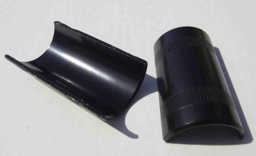 Lenker Distanzschalen 22,2 - 25,4 mm schwarz
