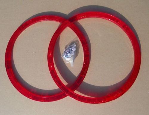 RING Speichenreflektoren rot 2 Stück
