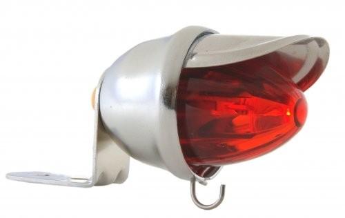 Rücklicht Baby Bee LED rot verchromt