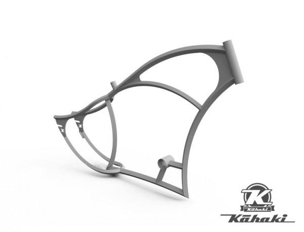 Custom Rahmen Kahaki Bob roh