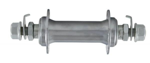 Vorderradnabe Stahl verchromt
