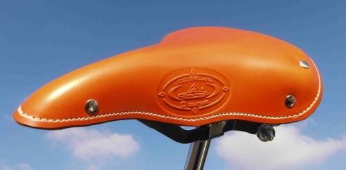 Vintage Leder Sattel 1970 Old England