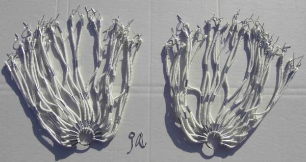 Kleidernetz Rockschutz Gummi, weiß, 26-28