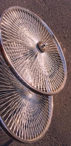 Laufradsatz 140 Speichen, Vorder- und Hinterrad, 26 Zoll