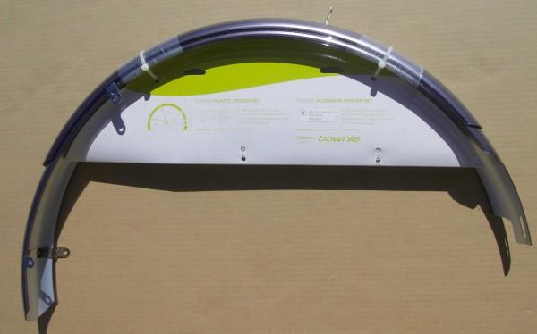 Schutzbleche Electra 26 Zoll dunkelsilber