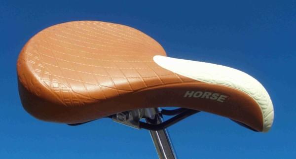 Allround Sattel Horse Retro Deluxe hellbraun